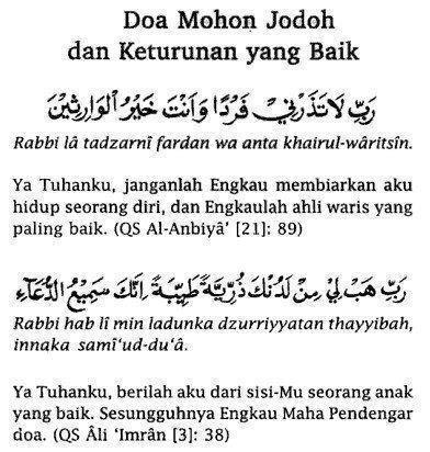 doa mohon jodoh   392 412 absurd things in my life