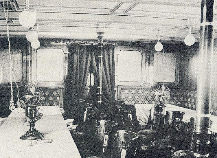Interior de la cámara de 1ª clase. De la revista La Vida Marítima. Año 1904.JPG