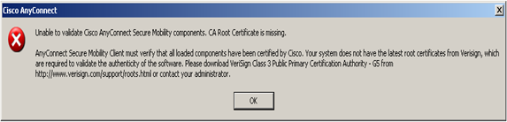 You can't borrow my rack: CA Root Certificate is missing error