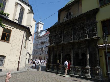 Obiective turistice Lvov: capela negustorului maghiar