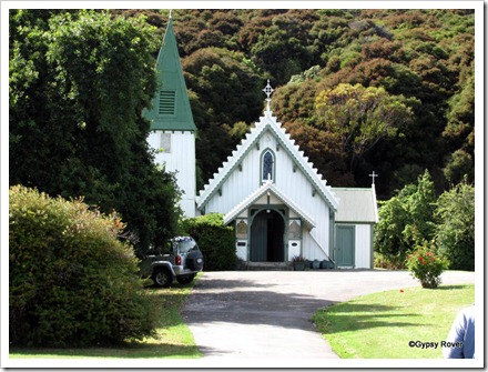St Patrick's Catholic church Akaroa.
