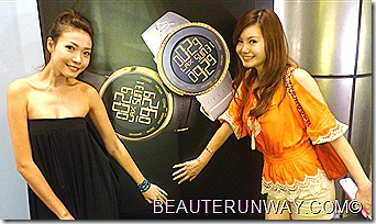 Le Yao and Dawn Yeoh I-Gucci timepiece collection and Grammy Museum Travelling Exhibition at Paragon Singapore