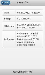 İski Arıza ve Kesintiler - screenshot thumbnail