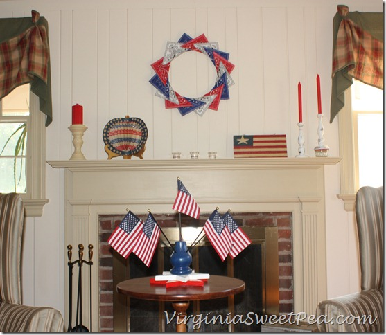 4th of July Mantel2