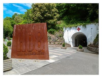 Jersey - War Tunnels - Eingang