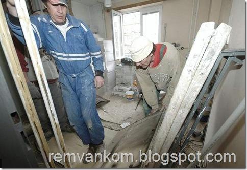 комплексный ремонт ванной комнаты 16
