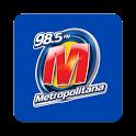 Metropolitana FM - 98,5 - SP icon