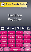 Screenshot of Pink Lady Skin for TS Keyboard