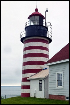 01c - West Quoddy Head Lighthouse - The Light Tower