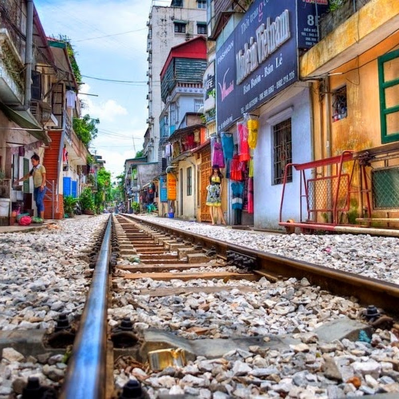 The Backyard Trains of Hanoi