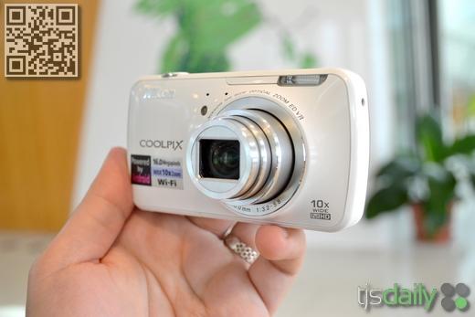 nikon coolpix s800c review lens
