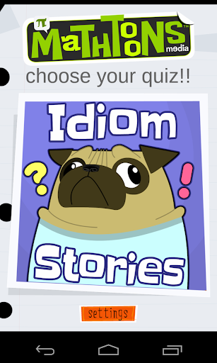 Idiom Stories