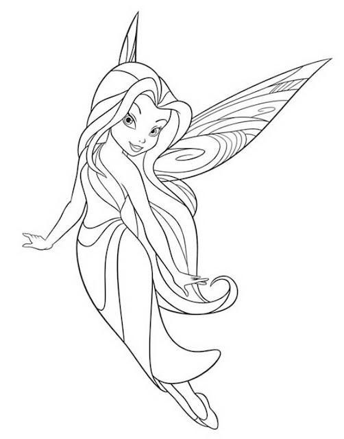 Hadas Disney Dibujos Para Colorear