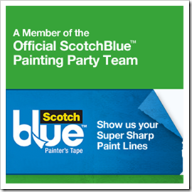 ScotchBlue 2011 Painting Party Blogger Badge