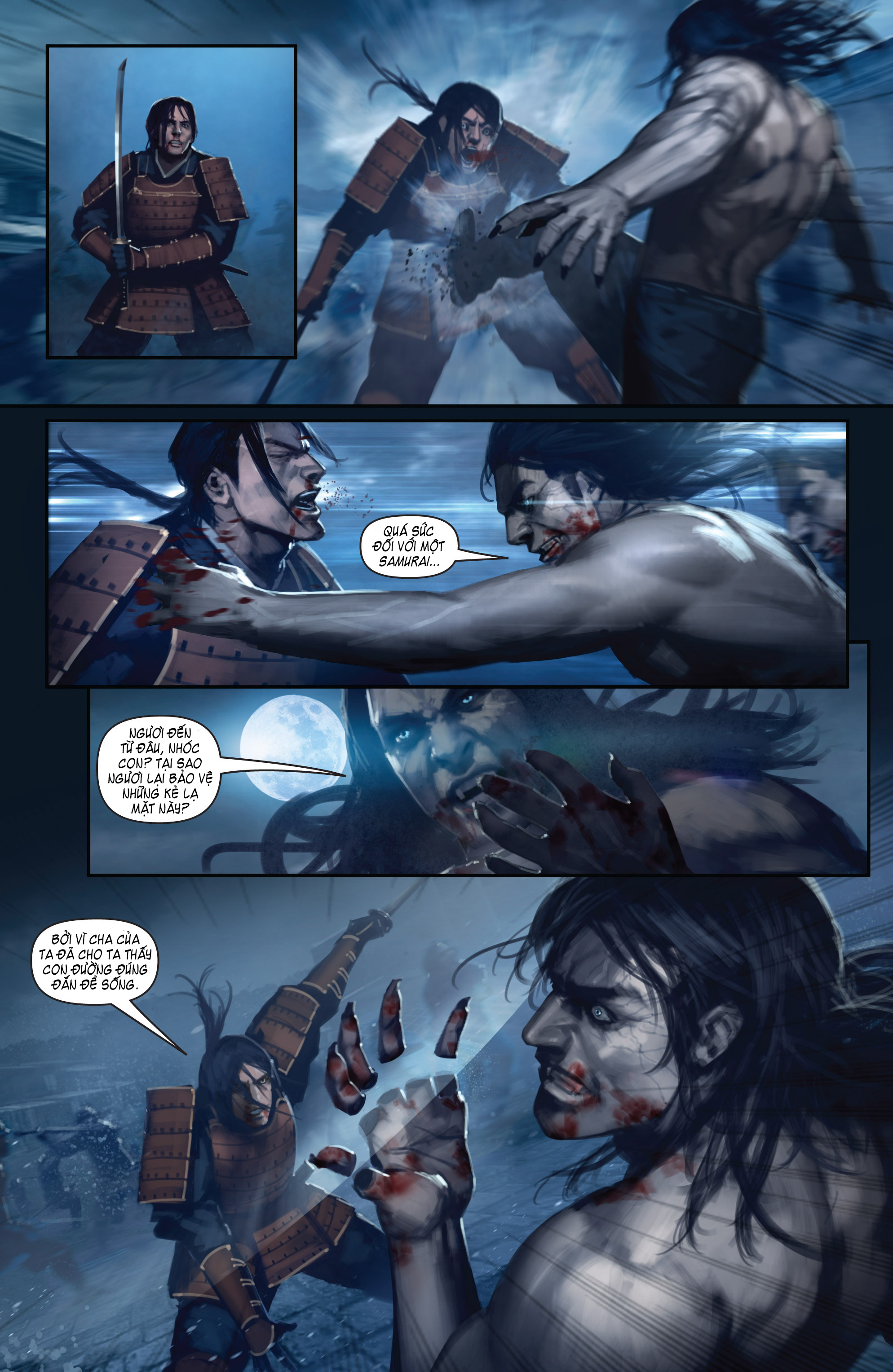 BUSHIDO - THE WAY OF THE WARRIOR chapter 5 - end trang 19