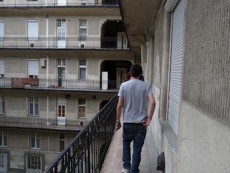 Imagini Ungaria: bloc de locuinte Budapesta