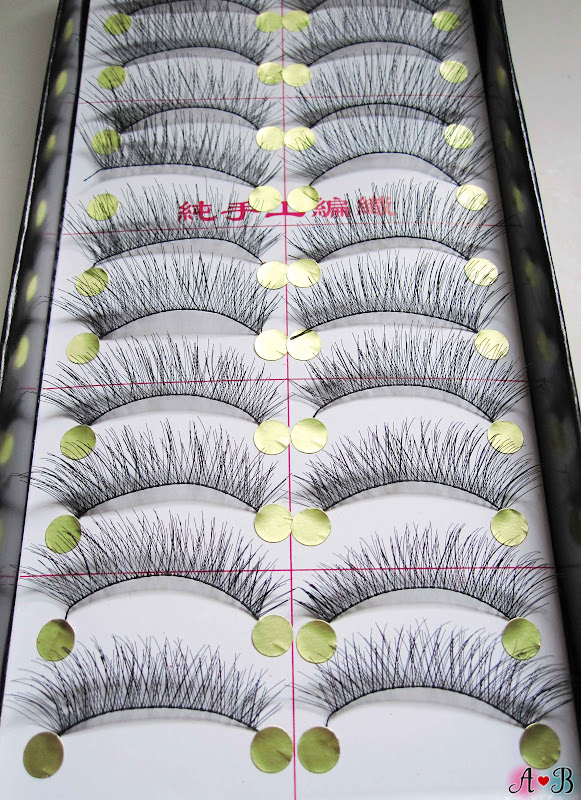 ES Handmade Eyelashes - Natural Soft Black Eyelashes (ES A856)