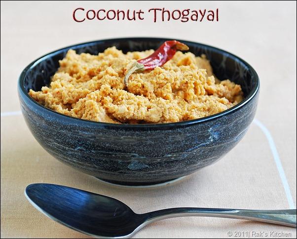 coconut-thogayal