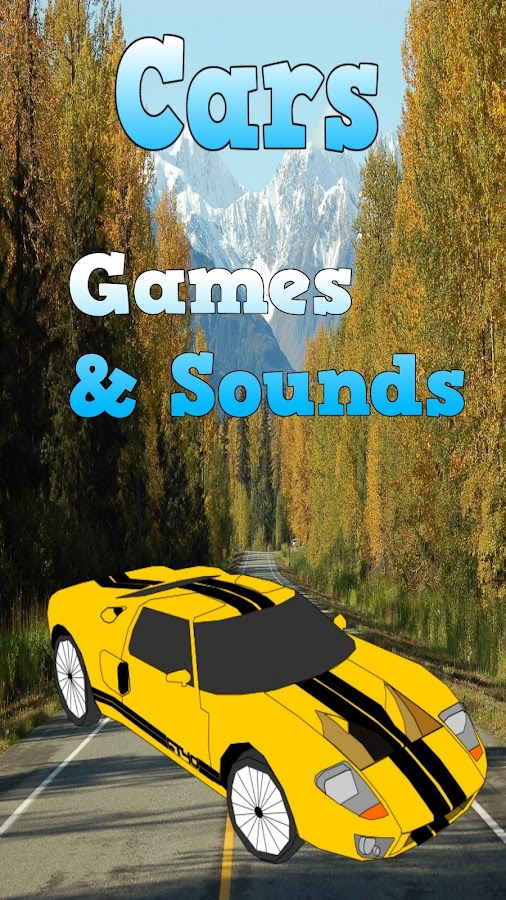 car games for kids screenshot