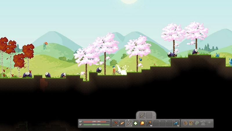 Indie Retro News: Crea - Another Terraria style game appears