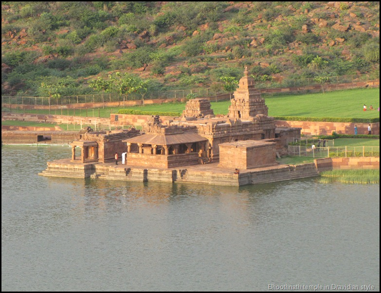 Bhoothnath temple in Dravidian style