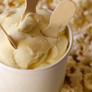 Buttered Popcorn Gelato.