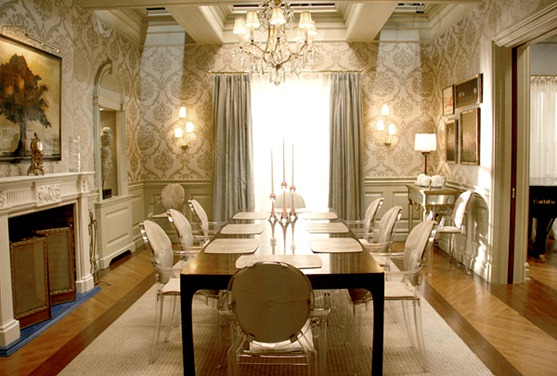 ghost chairs dining room | Design Under the Influence: The Louis Ghost Chair | La ...