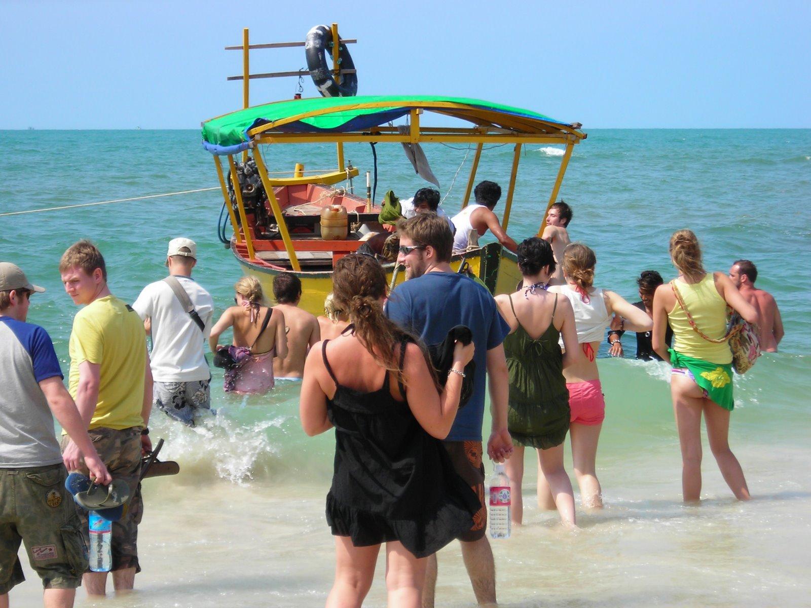 boat trip to sihanoukville's islands.  koh rong, koh rong samloem