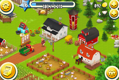 24時間後のHeyDayの農場