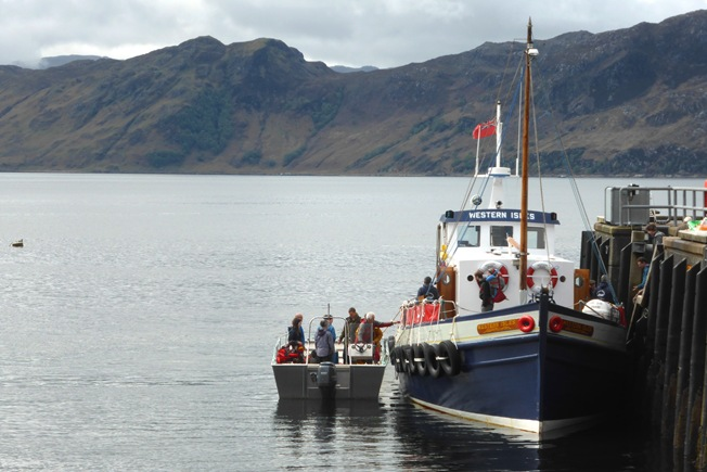 THE WESTERN ISLES AT KNOYDART PIER