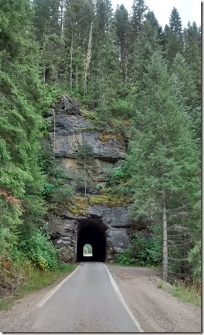 Tunnel in Northern Idaho