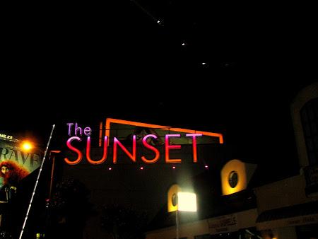 Obiective turistice SUA: Sunset Boulevard