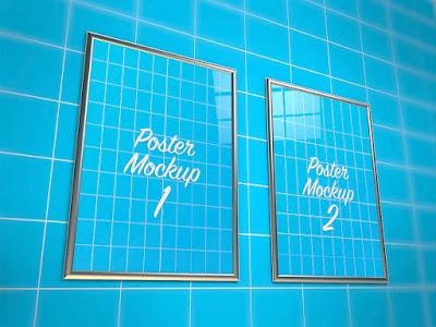Chia sẻ bộ Mockup Poster treo tường tuyệt đẹp
