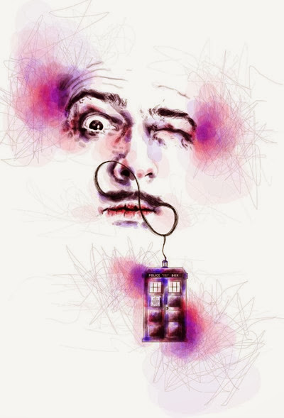 Dali and the TARDIS