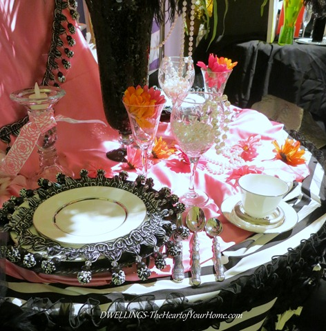 Southern Spring Show My Fair Lady Table Setting