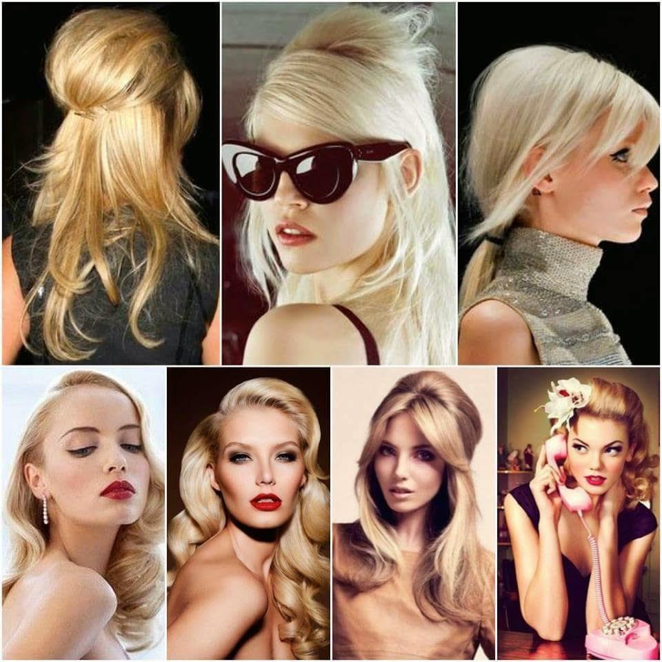 Style Woman By Christina Tendencia En Peinados Anos 60 70 Y 80
