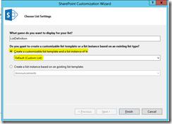 Suhail Cloud: Create Discussion Board list definition