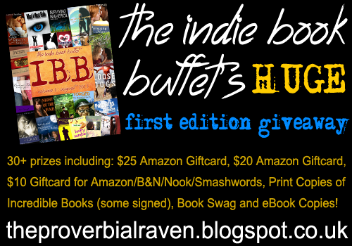 The Indie Book Buffet's First Edition Giveaway!