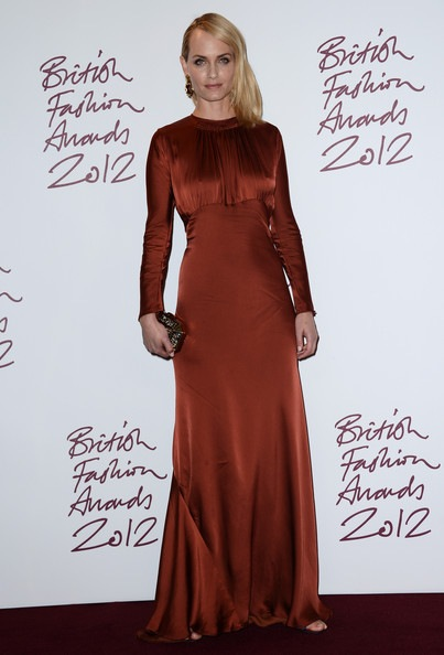 Amber Valletta British Fashion Awards