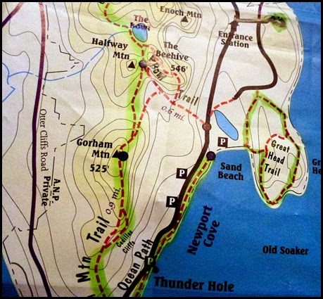 00 - Great Head Trail Map