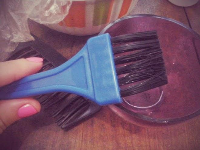 maneira correta de Pintar o cabelo