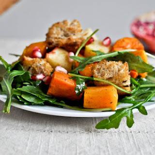 Roasted Autumn Panzanella Salad