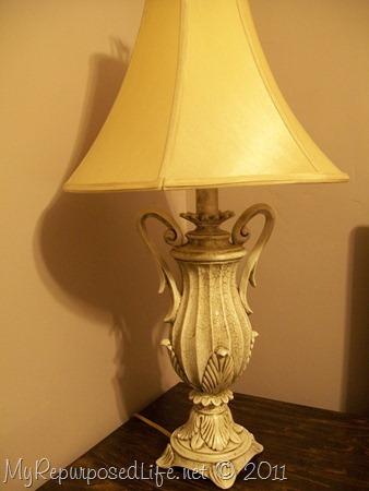 glazed lamp