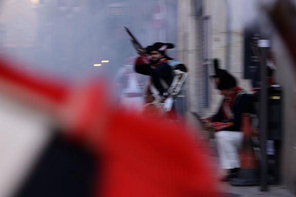Darrer combat de l'assalt de Tarragona. Jornades de recreació històrica  del Bicentenari del setge a la Guerra del Francés. Tarragona, Tarragonès, Tarragona