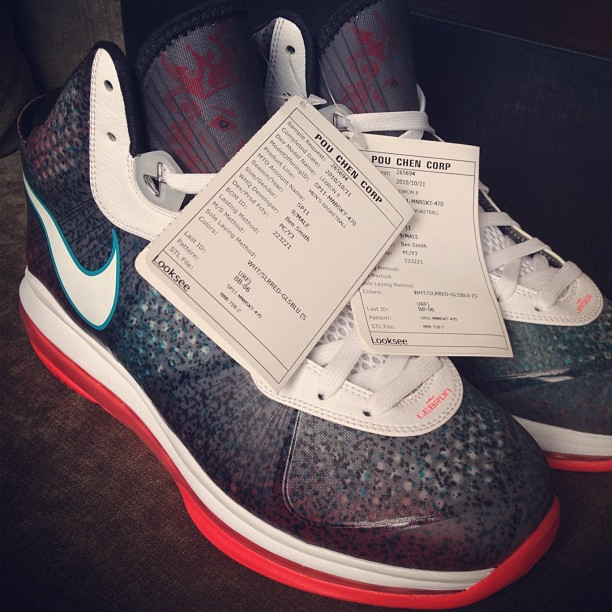 ... Nike LeBron 8 8220Miami Nights8221 were in fact Designed for Los  Angeles ... 2a102ce7bc69