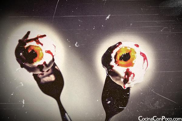 Receta especial de Haloween - Ojos de loca