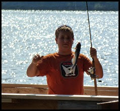 04b - Catching - Andrew caught one