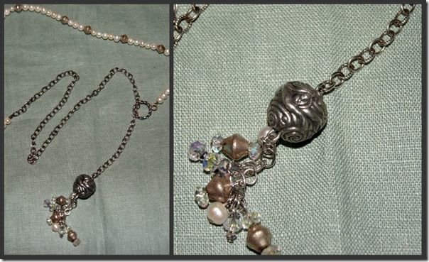 Mermaid Necklace collage