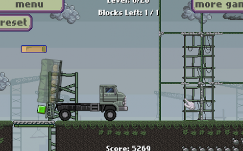 Army transport truck driver - screenshot thumbnail