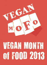 Vegan MoFo 2013 Graphic